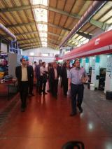 بازدید اعضای هیات علمی دانشگاه بیرجند از شرکت شهرک های صنعتی