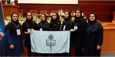 کسب مقام دوم تیم هندپلو دانشجویان دختر دانشگاه بیرجند در المپیاد ورزش های همگانی دانشجویان